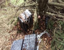На Буковині прикордонники затримали 16 ящиків сигарет
