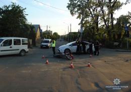 На Буковині «Volkswagen» збив дівчину на велосипеді