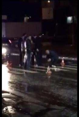 У Чернівцях біля дріжджзаводу автівка збила чоловіка (відео)
