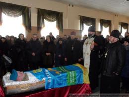 Поховали героя, який служив у Чернівцях