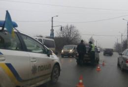 У Чернівцях на перехресті  Винниченка і Комунальників ДТП
