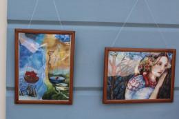 У Чернівцях проходить виставка дітей-художників із зони АТО