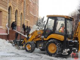 Сергій Обшанський звернувся до Володимира Бешлея та Василя Продана з проханням забезпечити прибирання снігу