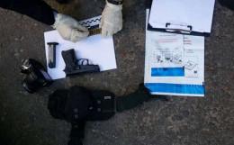 У чернівчанина поліцейські виявили пістолет та набої (фото)