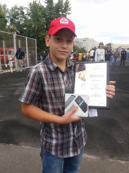 Хлопець, який на Буковині врятував свою родину з вогню, хоче стати рятувальником