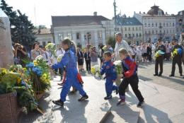 Чернівці святкують 27-му річницю Незалежності України (фото)