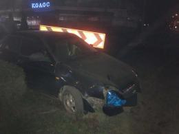 У Чернівцях п'яний водій ВАЗу врізався у кільце біля «Туристу» (фото)