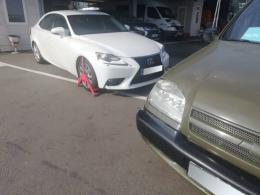 """На """"Порубному"""" виявили Lexus, який викрали у Великобританії"""