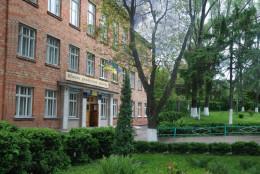 Шматок штукатурки, який відвалився від стелі у Чернівецькій гімназії, зачепив дитину