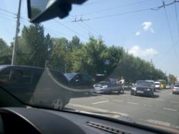 На Руській у Чернівцях сталось ДТП