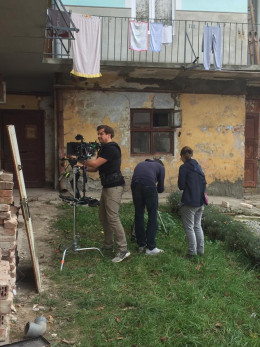 У Чернівцях знімають фільм про німецькомовну поетесу з Буковини