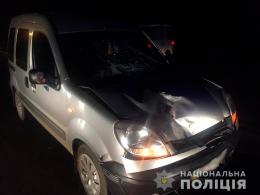 В Коровії 47-річний водій на «Renault Kangoo» збив 18-річну дівчину (фото)