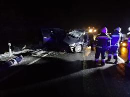 На Буковині через ожеледицю зіткнулись дві автівки, загинула людина