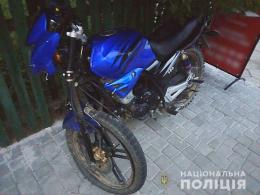 Двоє неповнолітніх викрали мотоцикл у Сторожинці
