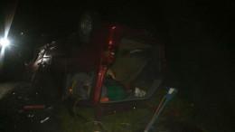 Чернівчанин на швидкості перекинув мікроавтобус на дах, є постраждалі (фото)