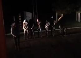 Біля кордону на Буковині з пострілами затримали сімох контрабандистів (відео)