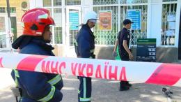 У відділенні «Ощадбанку» на Руській знайшли підозрілий пакунок (фото)