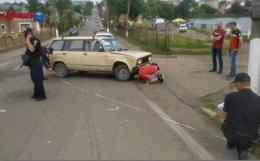 На Буковині зіткнулися два ВАЗи (відео)
