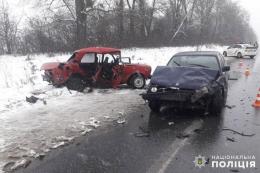 У ДТП на трасі «Житомир–Чернівці» постраждали четверо людей