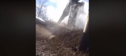 З'явилося відео з масштабної аварії на водогоні в Шубранці (відео)