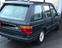 На Буковині прикордонники затримали Land Rover з підробленими документами