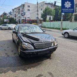У Чернівцях на перехресті Героїв Майдану та Щербанюка ДТП (фото)