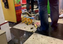 У Чернівцях арештували чоловіка, який влаштував погром у магазині в центрі міста