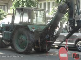 У Чернівцях на перехресті  Винниченка обмежать рух транспорту