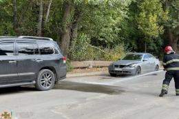 У Чернівцях BMW врізався у Lexus