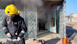 У Кельменцях через коротке замикання горів магазин