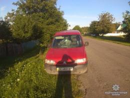 """На Буковині 13-річний велосипедист потрапив під колеса """"Сітроєна"""" (фото)"""