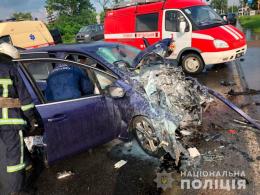 Стали відомі подробиці аварії з постраждалими у Чернівцях