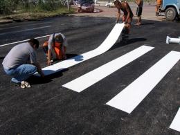 У Чернівцях планують малювати «зебри» пластиком