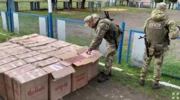 На Буковині прикордонники затримали 4 контрабандистів із цигарками на мільйон