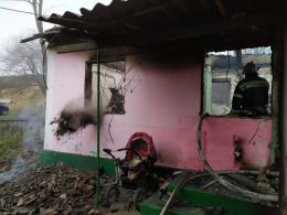 На Буковині в пожежі загинула мама і троє дітей (фото)