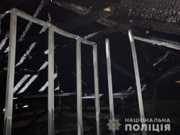 На Буковині невідомий підпалив недобудований будинок