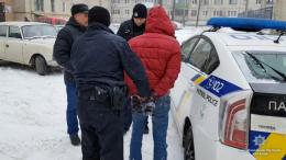Поліція затримала зловмисника
