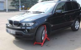 На Буковині затримали BMW, який вісім років був у розшуку