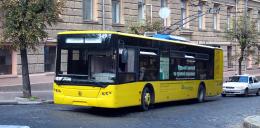 У Чернівцях тролейбус №1 тимчасово змінив свій маршрут