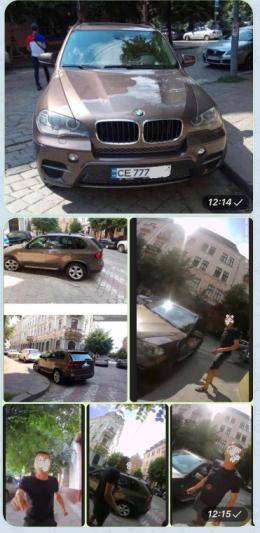 У Чернівцях водій BMW погрожував інспектору з паркування через штраф