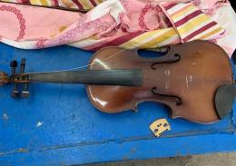 На Буковині митники вилучили у чоловіка старовинну скрипку та монети