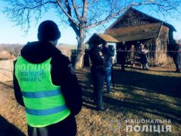 На Буковині чоловік вбив дружину сокирою та задушив півторарічну дитину (фото)