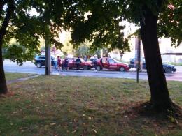 У Чернівцях водій джипа протаранив три автівки