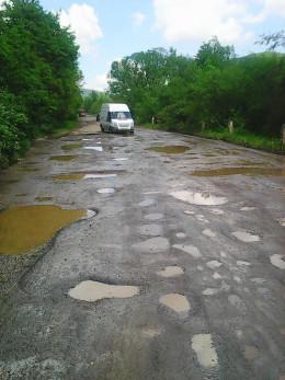 """На ремонт ділянки дороги """"Підзахаричі-Розтоки"""" виділили 5 мільйонів гривень"""