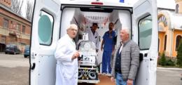 Обласна дитяча лікарня отримала сучасний реанімобіль вартістю більше п'яти мільйонів гривень