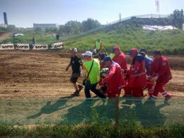 З лікарні виписали мотогонщика, який травмувався на чемпіонаті у Чернівцях