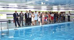 В багатопрофільному ліцеї для обдарованих дітей запрацював басейн (фото)