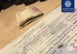 У Чернівцях двоє горе-водіїв намагалися підкупити поліцейських