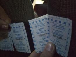 У Чернівцях водій маршрутки видавав пасажирам квитки за проїзд з однаковими номерами