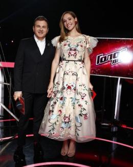 Катерина Осадча одягнула сукню від чернівецької дизайнерки